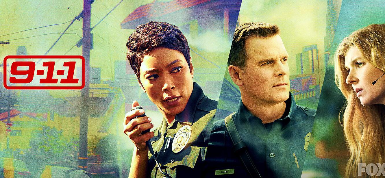 9-1-1 season 1 tv series Poster