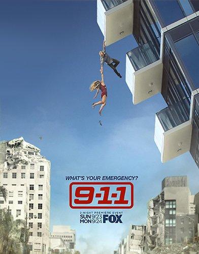 9-1-1 season 2 poster
