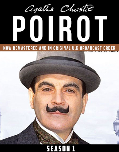 Agatha Christies Poirot season 1 Poster