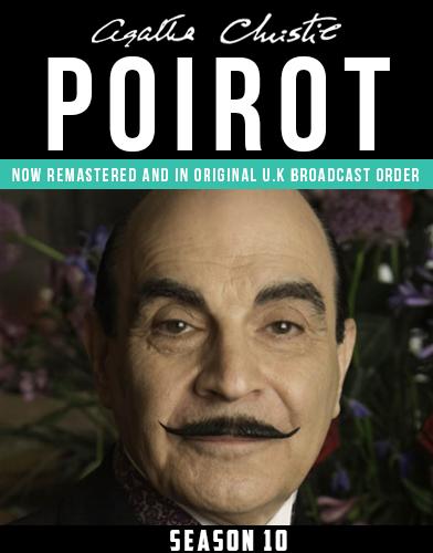 Agatha Christies Poirot season 10 Poster