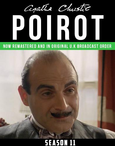 Agatha Christies Poirot season 11 Poster
