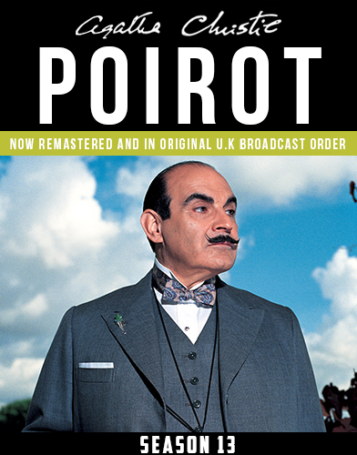Agatha Christies Poirot season 13 Poster