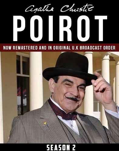 Agatha Christies Poirot season 2 Poster