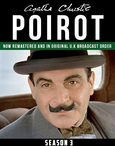 Agatha Christies Poirot season 3 Poster