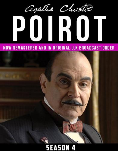 Agatha Christies Poirot season 4 Poster