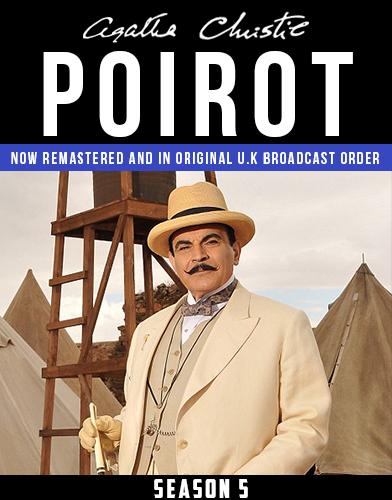 Agatha Christies Poirot season 5 Poster