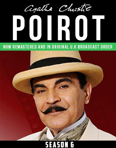 Agatha Christies Poirot season 6 Poster