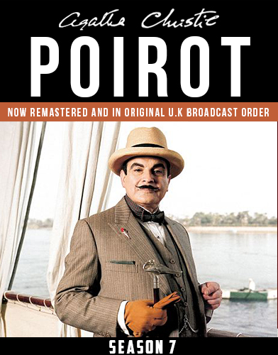 Agatha Christies Poirot season 7 Poster