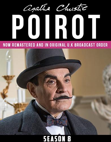 Agatha Christies Poirot season 8 Poster