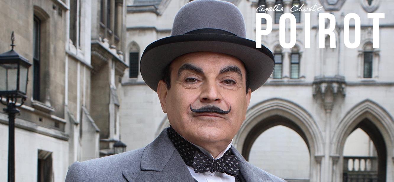 Agatha Christies Poirot tv series Poster