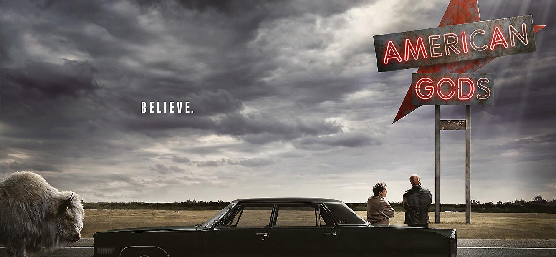 American Gods Season 1 tv series Poster