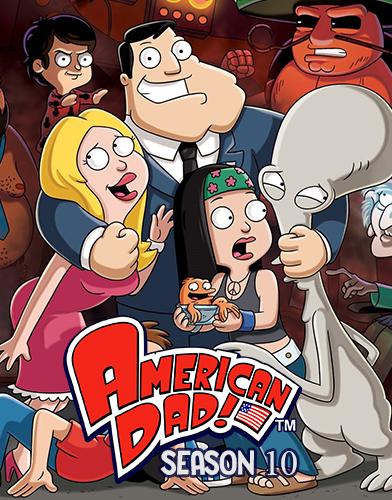 American Dad! Season 10 poster