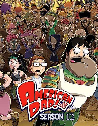 American Dad! Season 12 poster