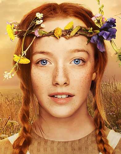 Anne with an E season 1 poster