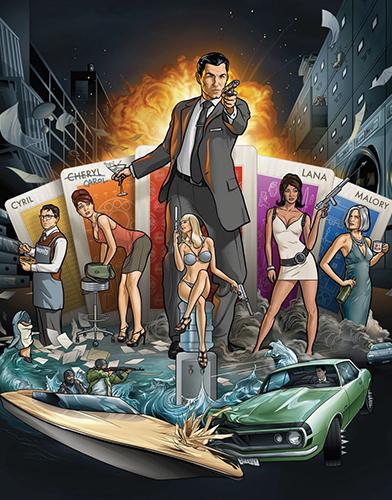 Archer  Season 1 poster