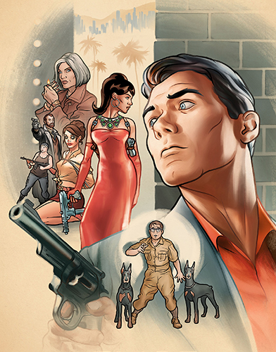 Archer season 7 Poster