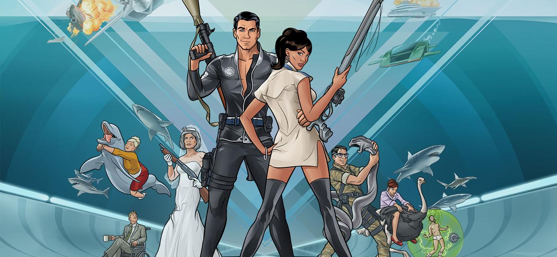 Archer  Season 1 tv series Poster