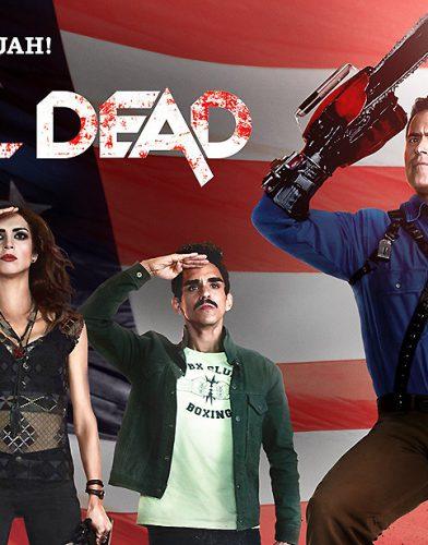 Ash vs Evil Dead tv series poster