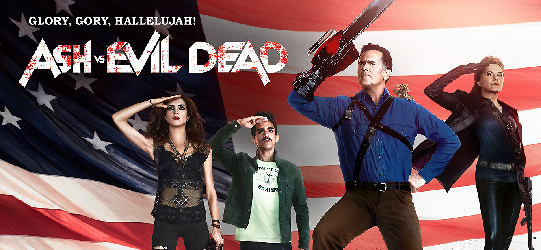 Ash vs Evil Dead  Season 1 tv series Poster