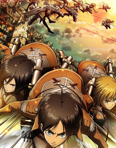 Attack on Titan  Season 1 poster