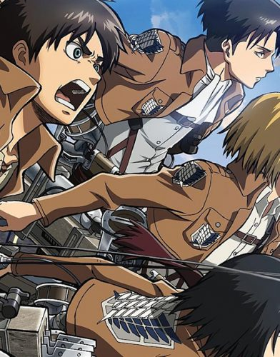 Attack on Titan tv series poster