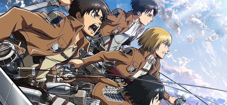Attack on Titan  Season 1 tv series Poster