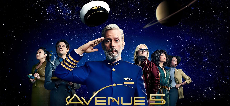 Avenue 5 Season 1 tv series Poster