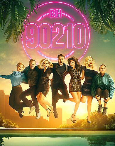 BH90210 Season 1 poster