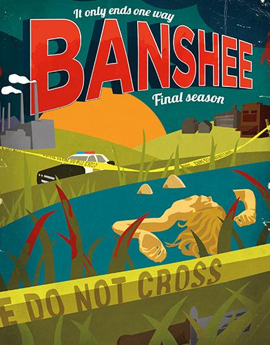 Banshee  Season 4 poster