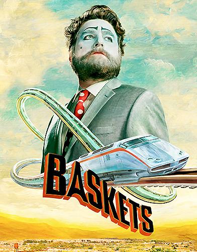 Baskets Season 4 poster