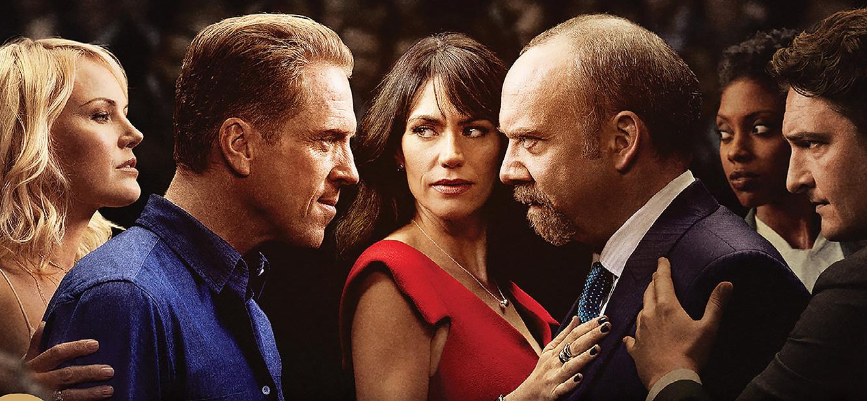 Billions Season 1 tv series Poster