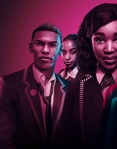 Blood & Water tv series poster