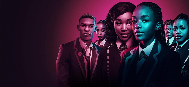 Blood & Water Season 1 tv series Poster