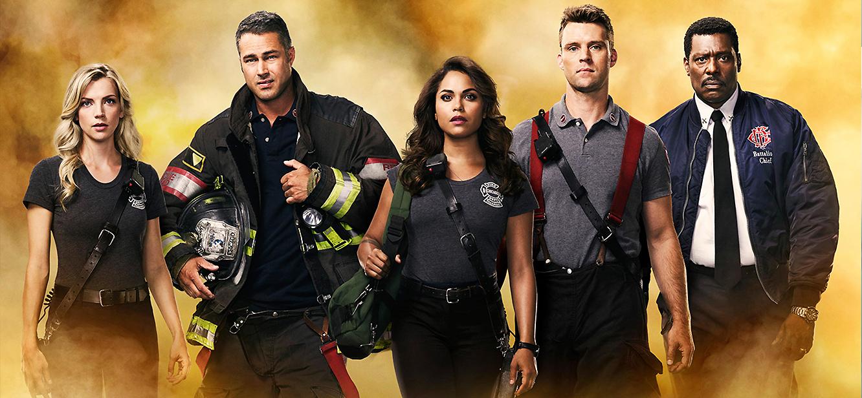 Chicago Fire Season 4 tv series Poster