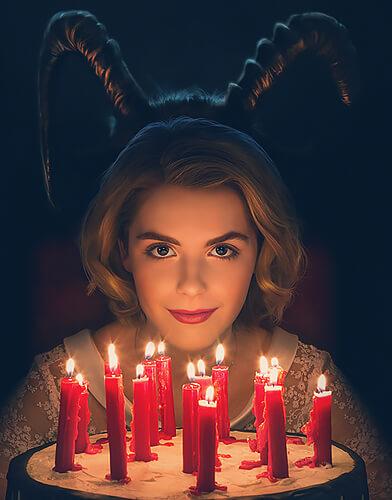 Chilling Adventures of Sabrina season 1 poster
