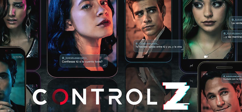 Control Z Season 1 tv series Poster