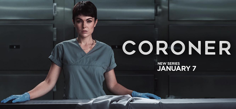 Coroner Season 1 tv series Poster