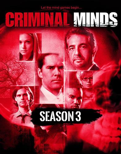 Criminal Minds Season 3 poster