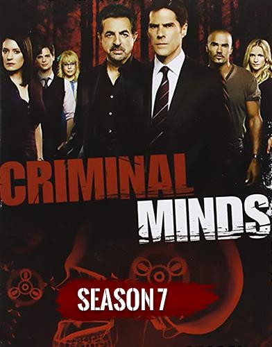 Criminal Minds Season 7 poster