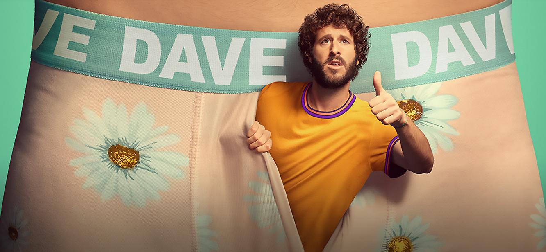 Dave Season 1 tv series Poster