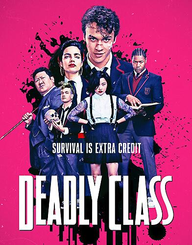 Deadly Class Season 1 poster