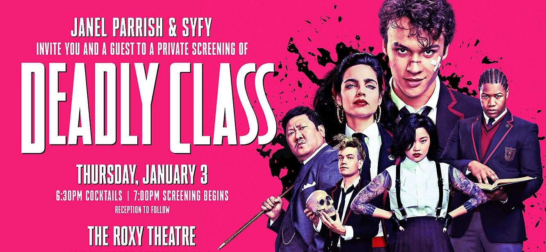 Deadly Class tv series poster