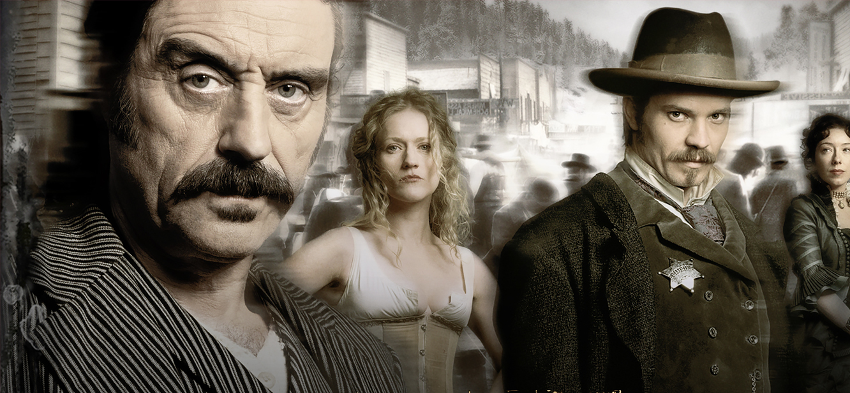 Deadwood Season 1 tv series Poster