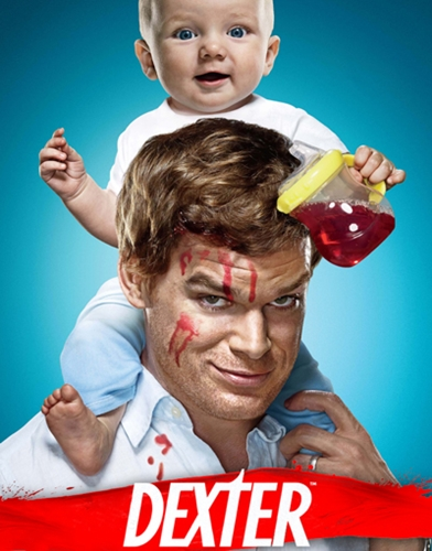 Dexter Season 4 poster