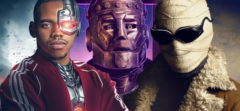 Doom Patrol Season 1 tv series Poster