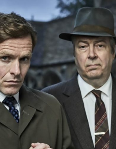 Endeavour tv series poster