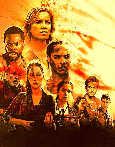 TV Show Fear The Walking Dead season 3  Today's TV Series