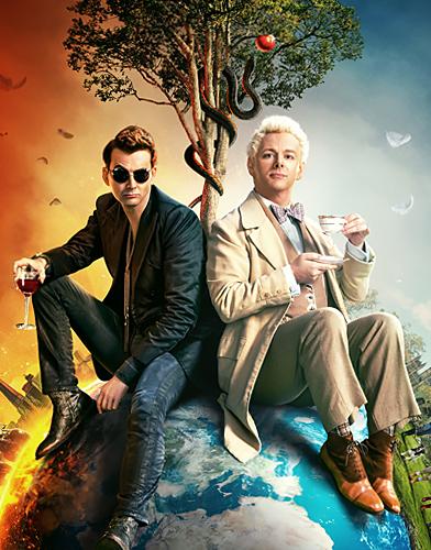 Good Omens Season 1 poster