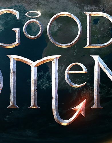 Good Omens tv series poster