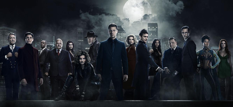 Gotham Season 1 tv series Poster
